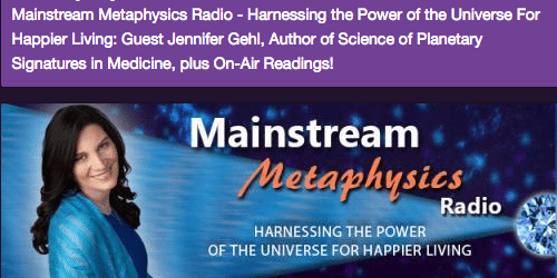 Mainstream Metaphysics Radio Show