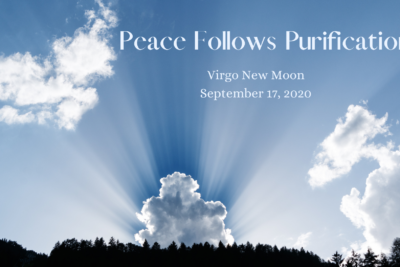 Virgo New Moon with Grand Earth Trine: Peace Follows Purification
