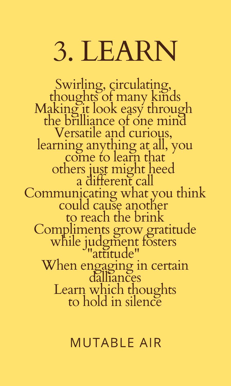 3. Learn